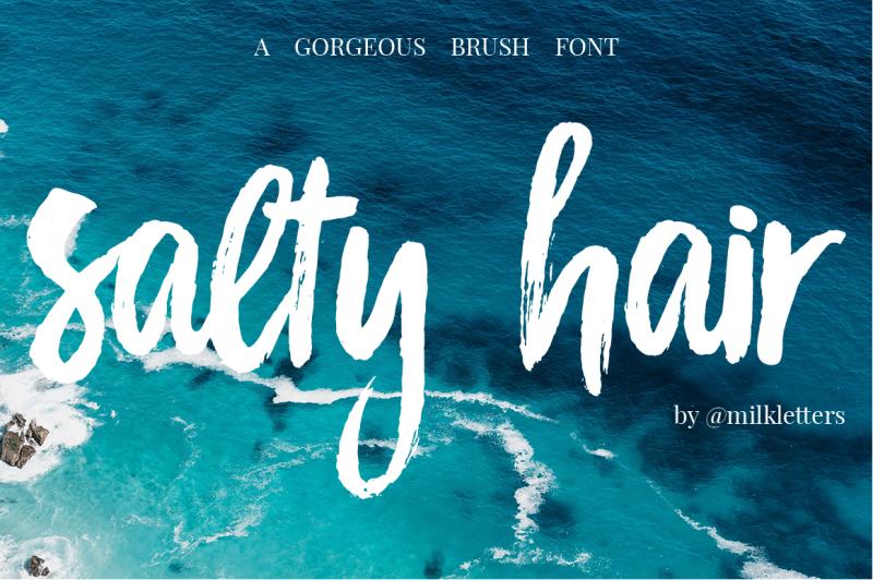 salty-hair-font-duo
