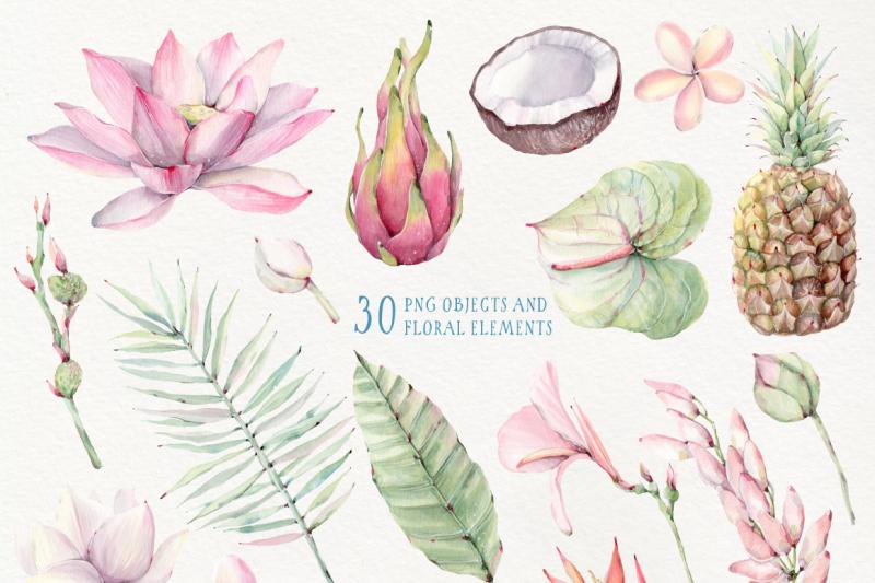tropical-breeze-watercolor-set