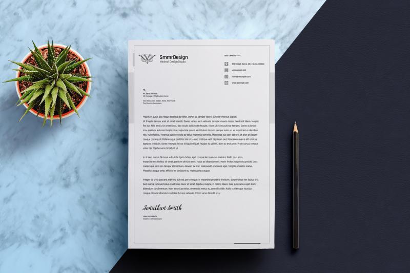 minimal-letterhead