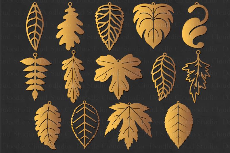 leaf-earrings-svg-leaf-tear-drop-svg-pendant-leaf-svg-files