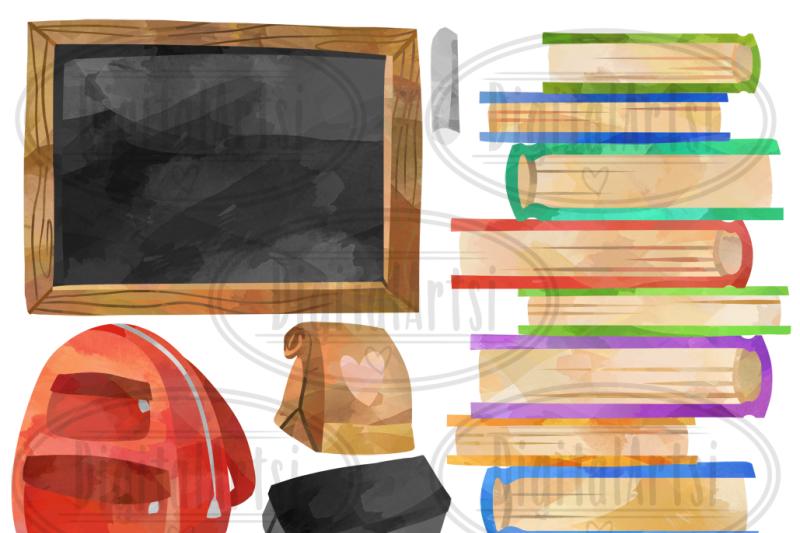 watercolor-school-supplies-clipart