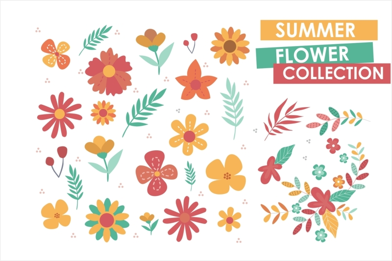 summer-vector-collection