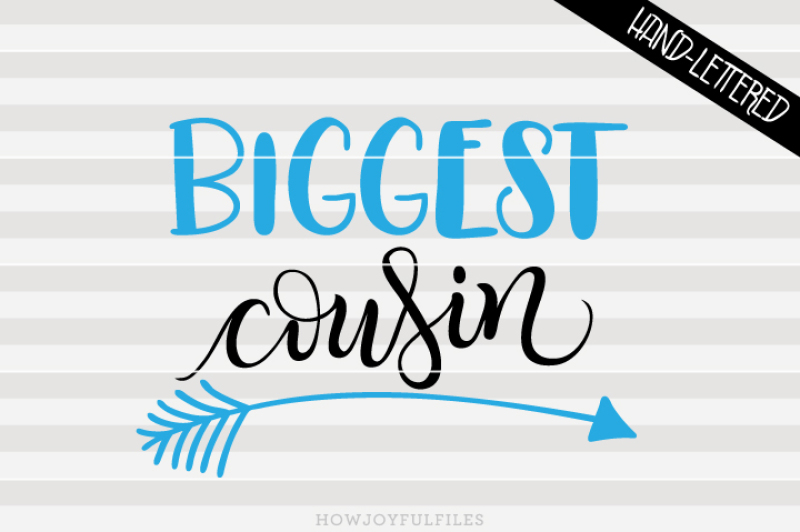 biggest-cousin-arrow-hand-drawn-lettered-cut-file