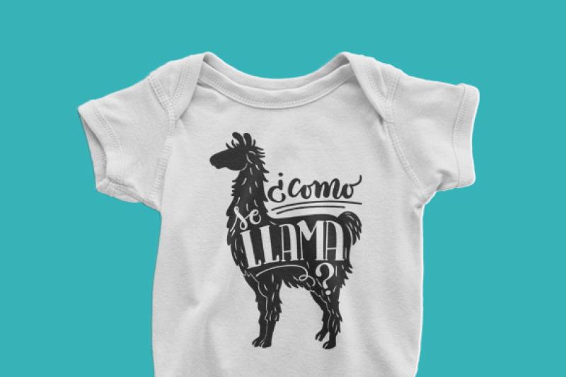 como-se-llama-what-s-your-name-llama-spanish-handwritten-cut-file