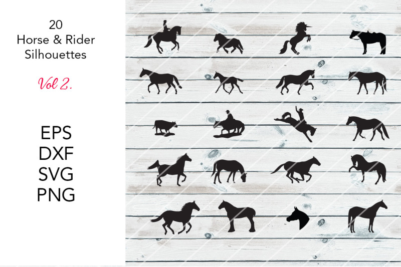 20-horse-silhouettes-vol-2