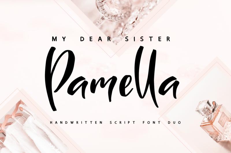sister-pamella-font-duo