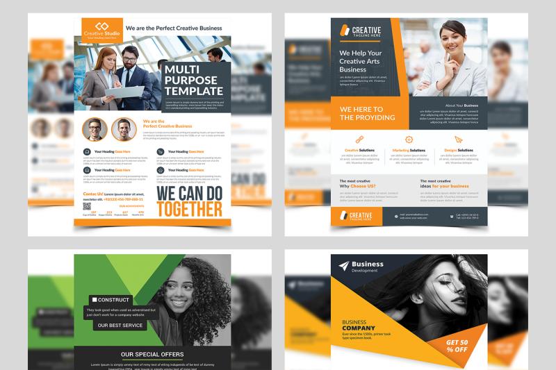 100-business-flyers-bundle