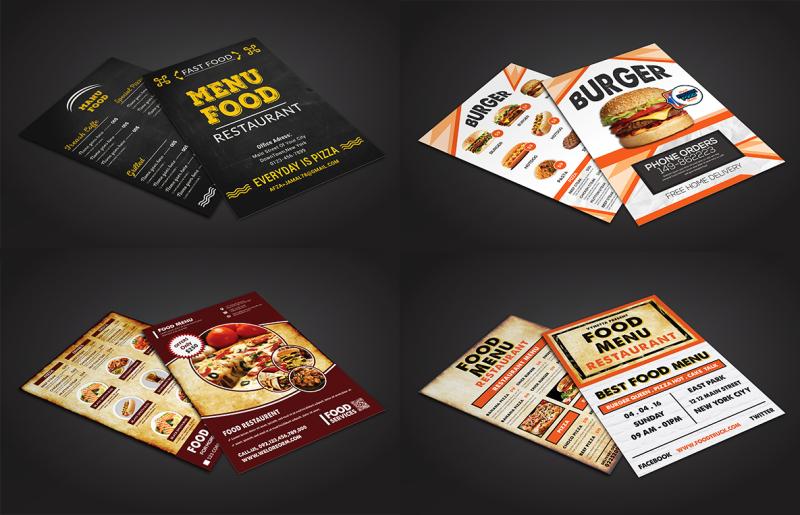 restaurant-menu-flyer-bundle