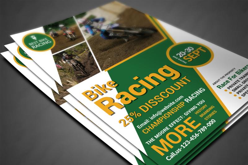 bike-racing-flyer