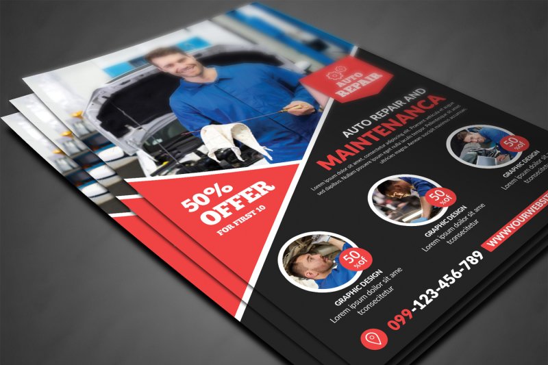 car-repair-flyer
