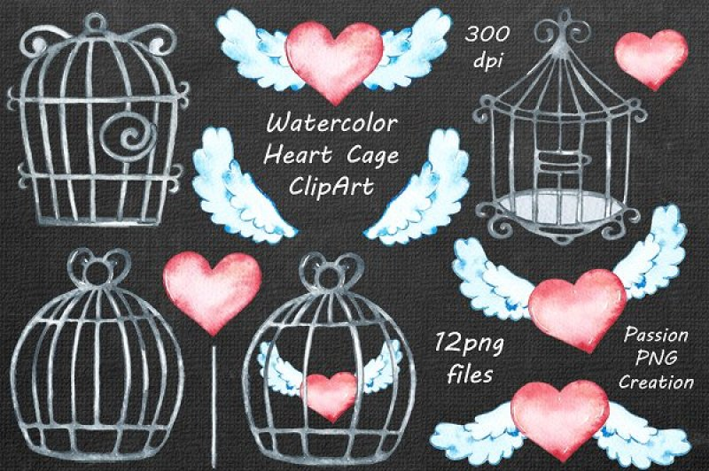 watercolor-heart-cage-clipart