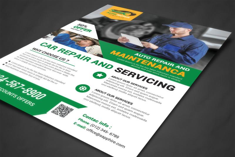 car-repair-flyer