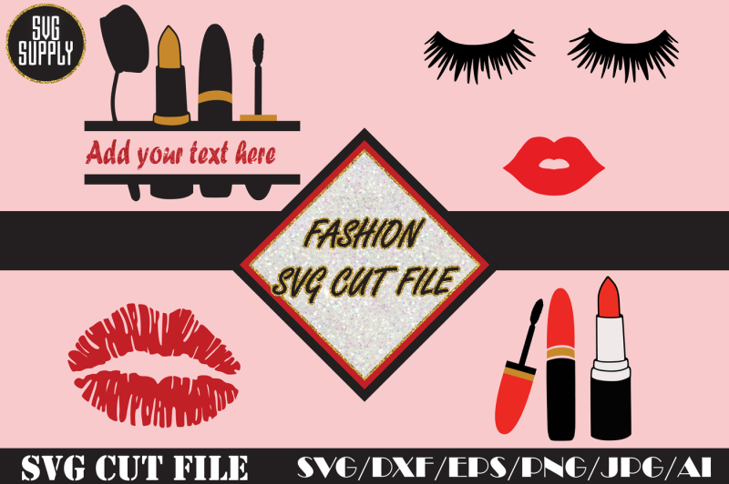 fashion-set-svg-make-up-monogram-cut-file