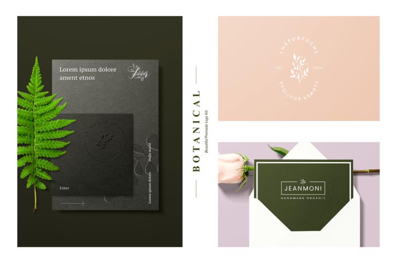 18-botanical-logo-kit