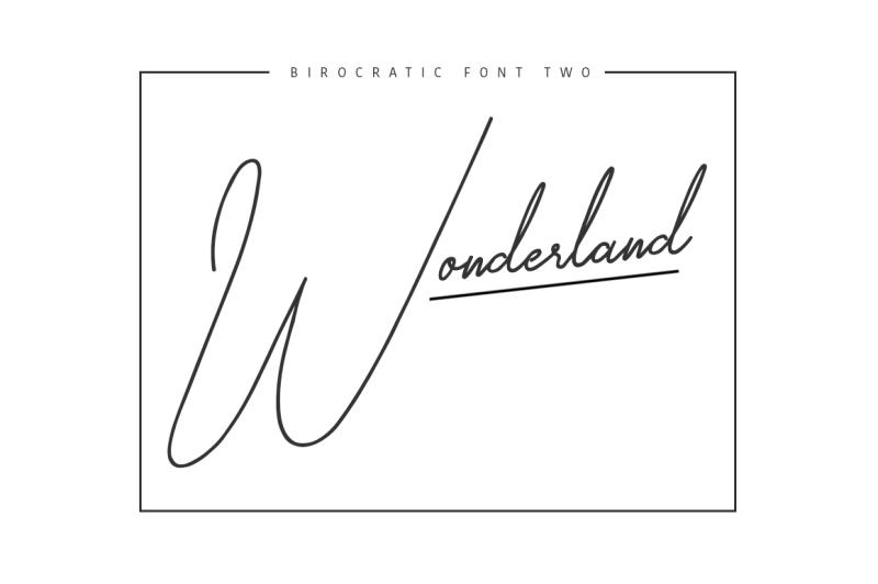 birocratic-typeface