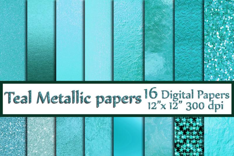 teal-digital-paper-teal-foil-papers-metallic-foil-paper