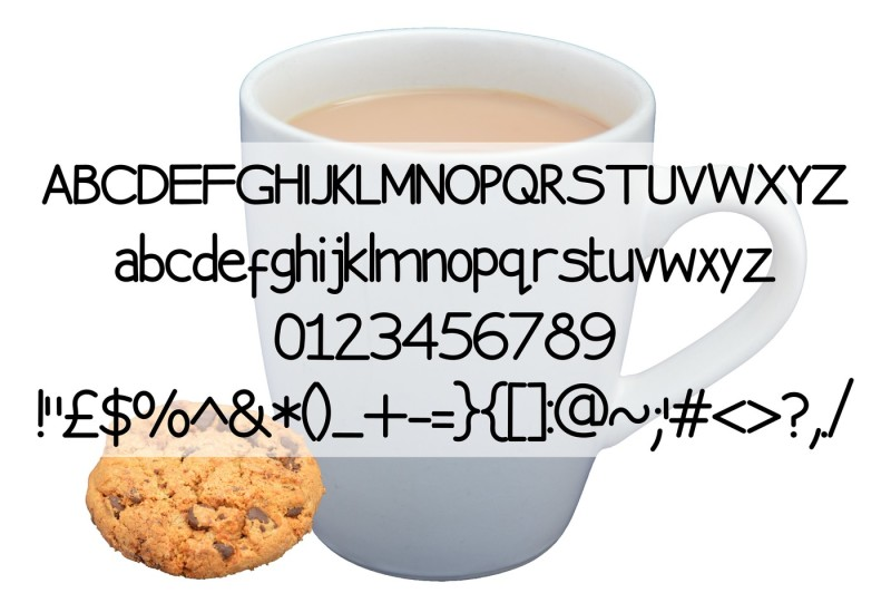 chocolate-biscuit-font