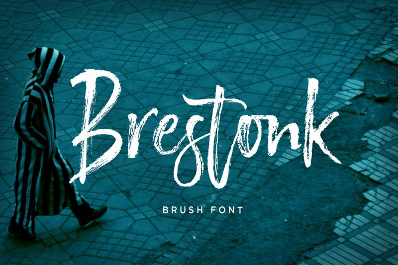 brestonk-brush-font