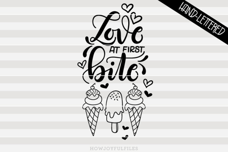 love-at-first-bite-ice-cream-summer-hand-drawn-lettered-cut-file