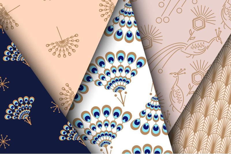 peacock-fest-seamless-patterns