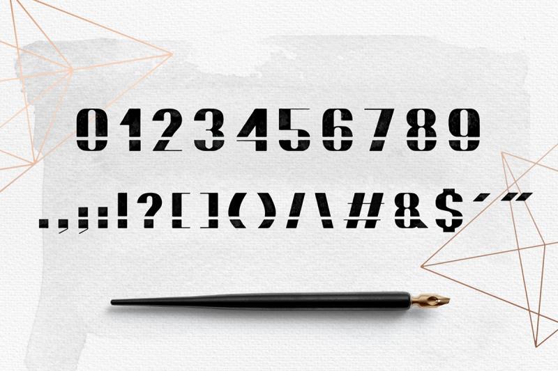 bomond-textured-ink-font
