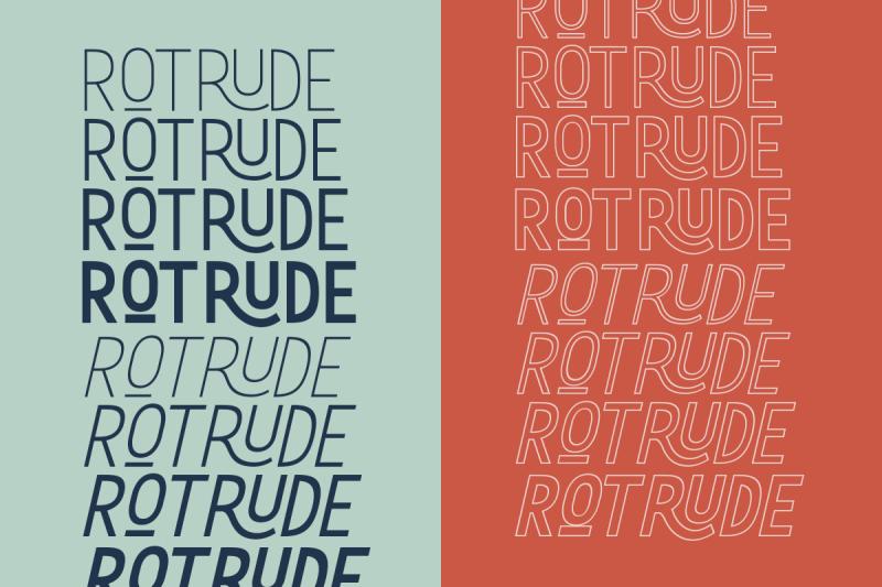 rotrude-sans-16-fonts