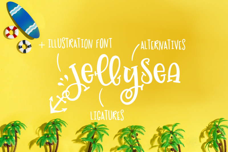 jellysea-font-duo-summer-doodles