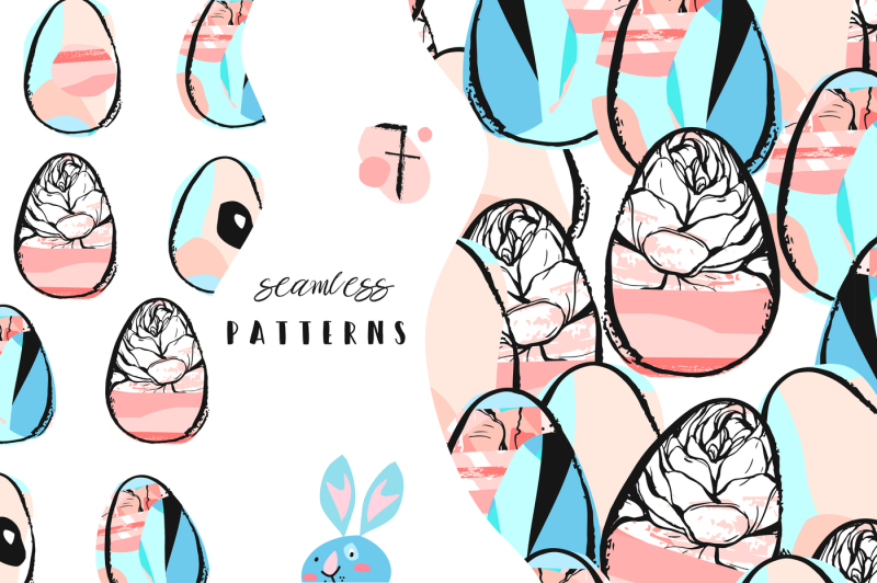 hello-easter-abstract-collection