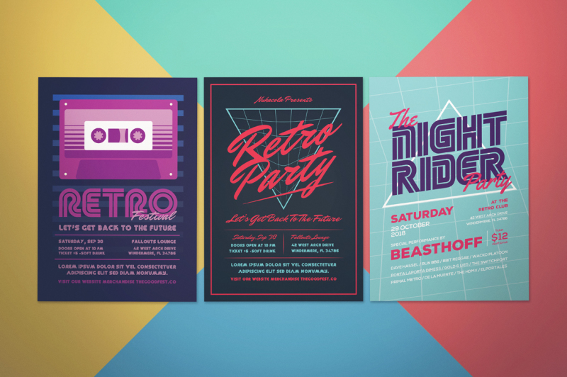 music-flyer-bundle