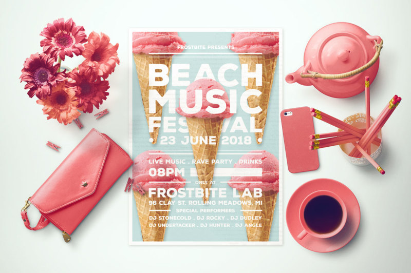 beach-music-festival-flyer