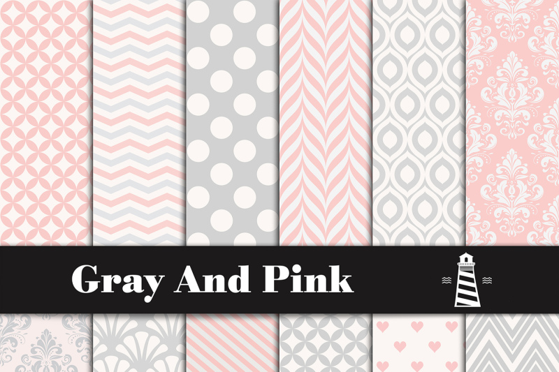 gray-and-pink-digital-paper
