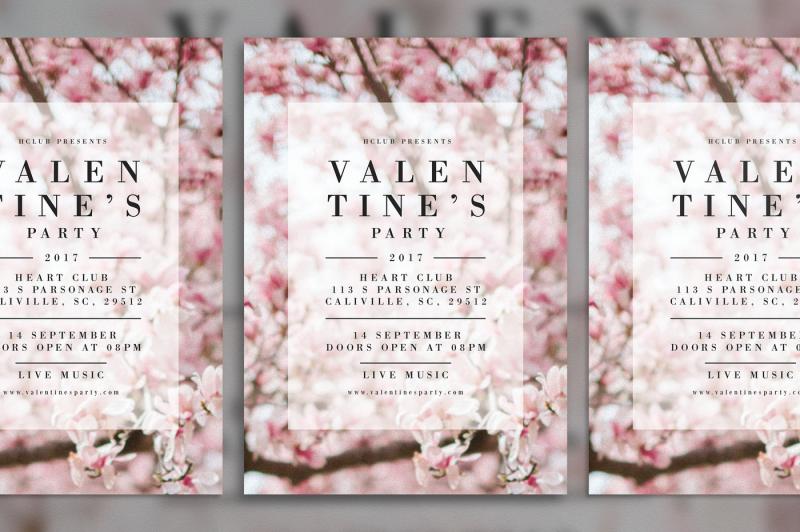 valentine-s-party-flyer