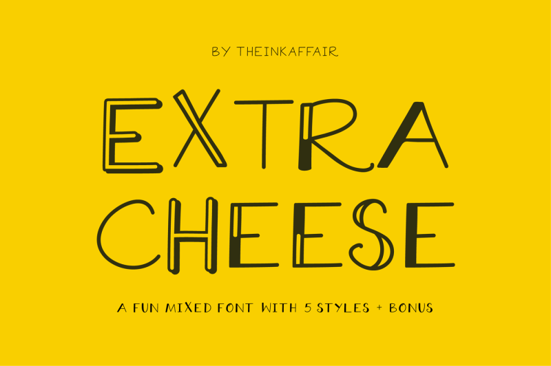 extra-cheese-font-set