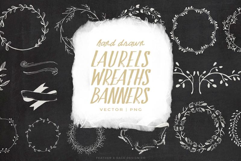 laurels-wreaths-banner-graphics