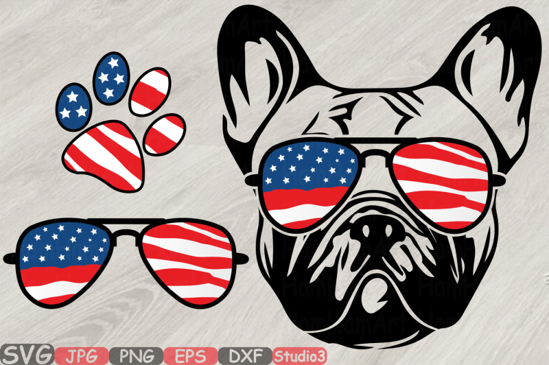 bulldog-usa-flag-glasses-paw-silhouette-svg-french-dog-4th-of-july-827