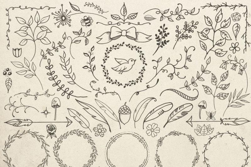 hand-drawn-vector-design-elements