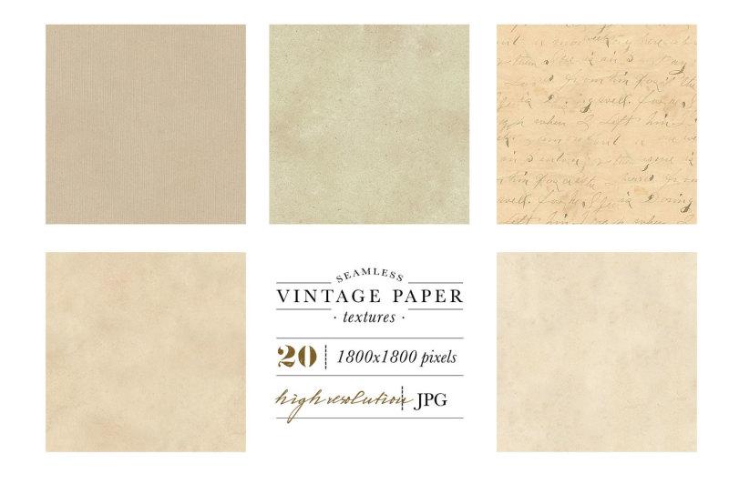 seamless-vintage-paper-textures