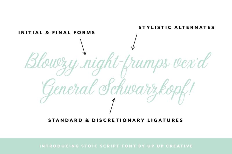 stoic-script-font