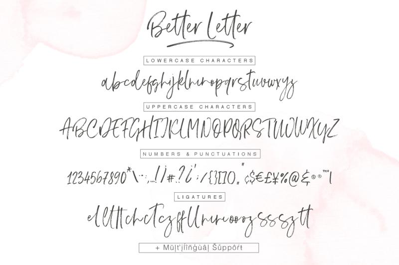 better-letter