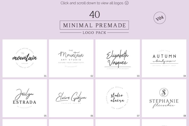 minimal-premade-logo-bundle-v04