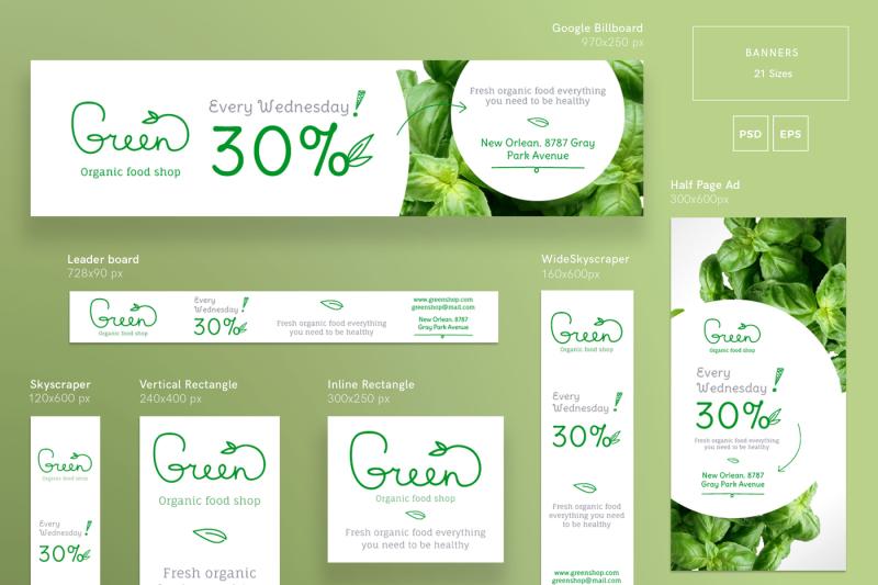 design-templates-bundle-flyer-banner-branding-organic-food-shop