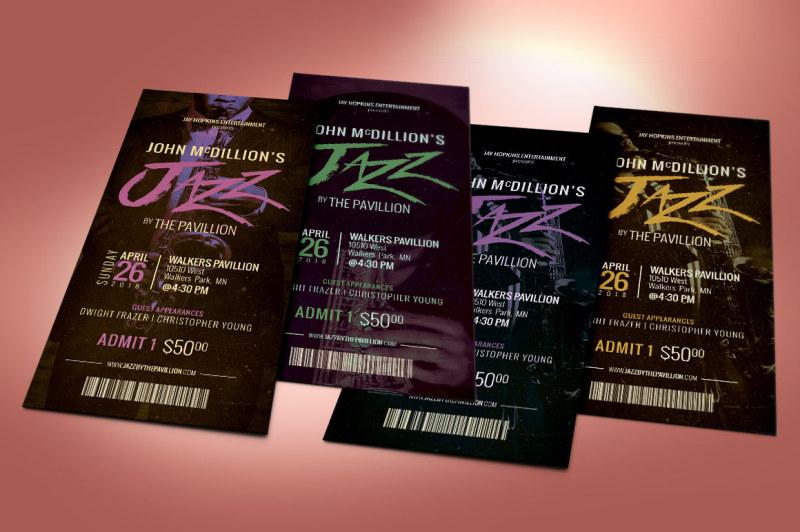 jazz-concert-ticket-template