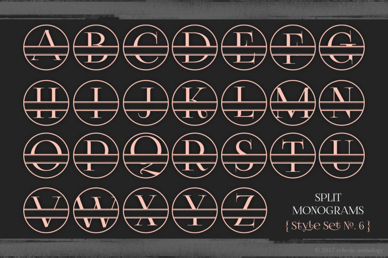 split-monograms-vector-toolkit