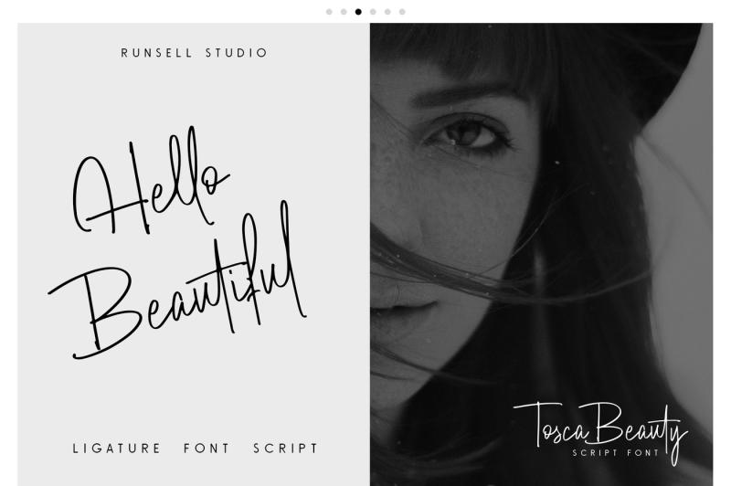 tosca-beauty-handwrittern-font