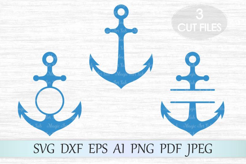 anchor-monogram-svg-dxf-eps-ai-png-pdf-jpeg