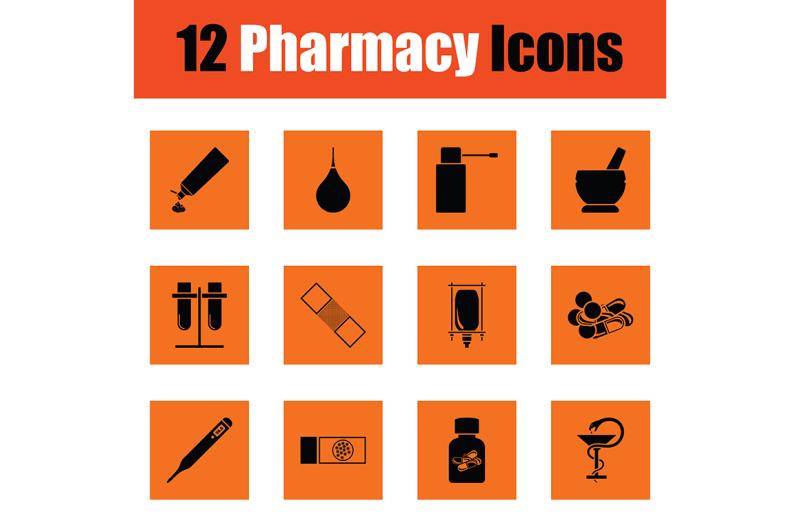 set-of-twelve-pharmacy-icons