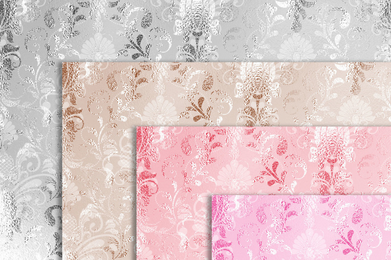 100-wedding-soft-luxury-foil-damask-texture-papers
