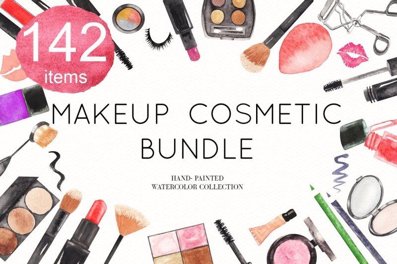 watercolor-makeup-cosmetic-bundle