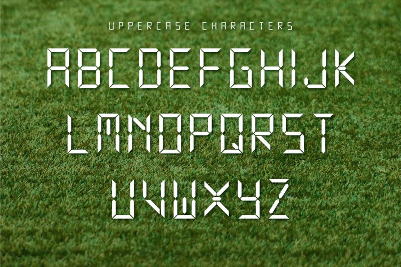 electronic-sport-font