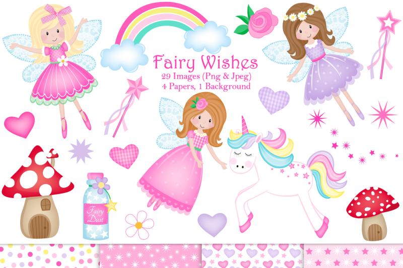 fairy-clipart-unicorn-clipart-fairy-graphics-amp-illustrations